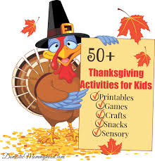 50 thanksgiving activities for domestic mommyhood