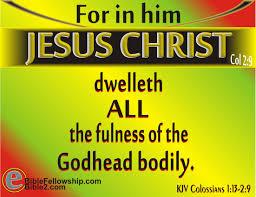 colossians 2 9 10 kjv kjv scripture tlc creations pinterest