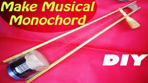 how to make a monochord diy home made monochord musical