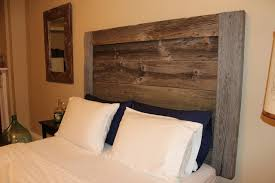 Barn Wood Headboard Surprising Rustic Barndoor Headboard Divider Doors Home Rusic