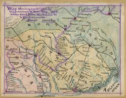 Map Of Richmond Va Map Showing Route Taken By U S Prisoners Of War Feby 1864 When