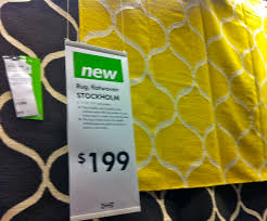stockholm rug ikea yellow rugs ideas