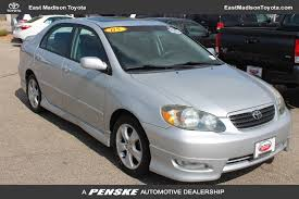 2005 toyota corolla tire pressure 2005 used toyota corolla 4dr sedan xrs manual at east