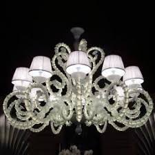 Chandeliers With Lamp Shades Tronchi