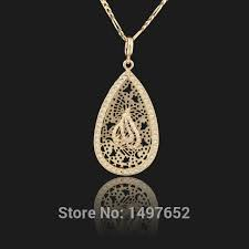 aliexpress buy fashion big size 18k gold plated men new brand big size muslim islamic pendant 18k gold plated