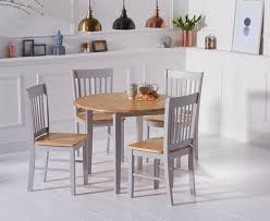 oak u0026 grey dining tables u0026 chair sets oak furniture superstore