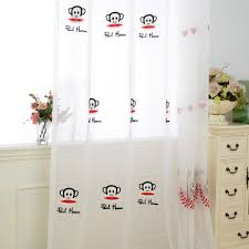 Monkey Curtains Nursery Online Get Cheap Monkey Window Curtains Aliexpress Com Alibaba