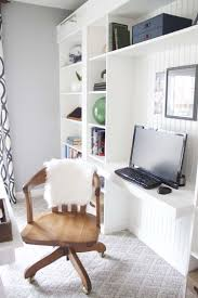 office makeover reveal ikea hack built in billy bookcases
