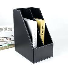 rangement documents bureau boite de rangement document a4 2 slot bureau en bois fichier livre