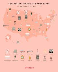 the most popular design trends by state domino