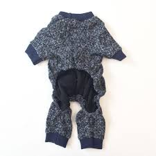 Sweater Pajamas High Quality Knit Navy Blue Pajamas Days