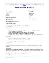 examples of resumes best cv format resume 2015 free model