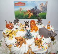 Lion King Decorations Amazon Com Disney The Lion Guard Deluxe Mini Cake Toppers Cupcake