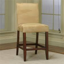 counter height dining chair with wheat micro suede fabric by counter height dining chair with wheat micro suede fabric