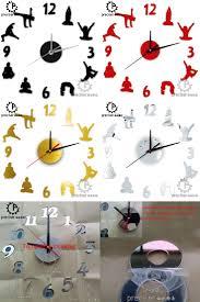 Yoga Home Decor 3d Wall Decor Black Savvy Birds 8 Pc Home Decor Ideas