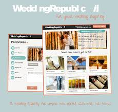 unique wedding registry wedding republic a registry as unique as you are sponsor
