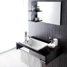 designer waschbeckenunterschrank badmöbel set gäste wc top mit waschbecken unterschrank spiegel 75cm