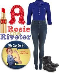 Rosie Riveter Halloween Costume Easy Minute Diy Halloween Costume Idea Rosie Riveter