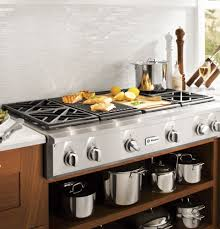 Cooktop With Griddle And Grill Zgu484ngpss Monogram 48
