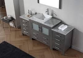 stylish 72 inch single sink bathroom vanity with abbey 60 bath