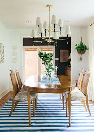 Colored Dining Room Tables by 10 Tips For Getting A Dining Room Rug Just Right