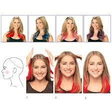 ladies hair pieces for gray hair 20 inch grey silver hair no clip hair extension brazilian