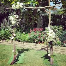 Wedding Arches Melbourne Wedding Arbour With Branches The Wedding Arch By Ceremonies I Do