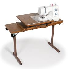 fold away sewing machine table horn hideaway sewing cabinet