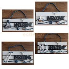 online buy wholesale home decoration welcome sign wood from china