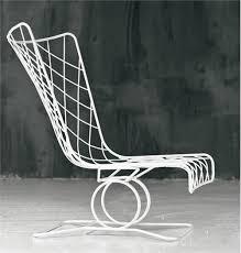 metal mesh lounge chairs