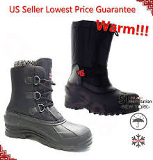 s boots waterproof l m s black winter boots shoes warm thermolite waterproof