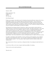 Treasury Analyst Resume Business Management Analyst Cover Letter