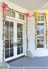 Easter Decorations For Window by Decorate Outdoors For Easter