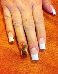 get festive and try some thanksgiving nail