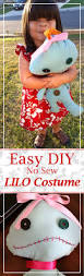 lilo costume easy diy lilo costume and scrump doll instructions