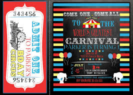 36 best circus birthday ideas carnival birthday party signs