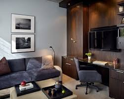 Houzz Media Room - combination office and media room ideas u0026 photos houzz