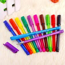 colorful colors 10 12 colors ballpoint pens set colorful ball pen for manga