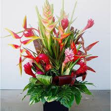 tropical flower arrangements tropical flowers expo florist of riverside riverside ca