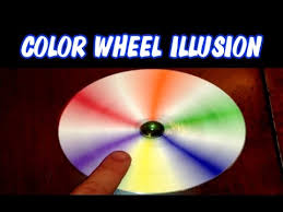 color wheel illusion spinner newton u0027s disc easy to make