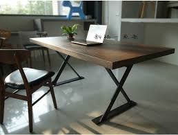 Dining Room Computer Desk American Loft Solid Wood Dining Table Designer Work Table