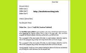 letter with attention line and subject line sample formal letters