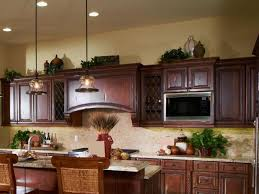 ideas for on top of kitchen cabinets ideas for decorating above kitchen cabinets