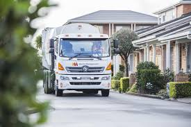 electric truck nz trucking first electric kerbside waste collection truck