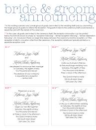Wedding Invitation Sayings Wedding Invitation Wording From Bride And Groom Wedding