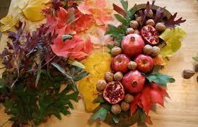 fall table arrangements fall table decor diy arrangements colourful autumn leaves tray