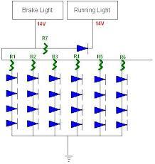 led tail light for bmw e36 problem