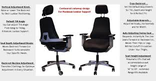 Lower Back Chair Support Best Back Chair Finally An Office Chair Allows You To Sit