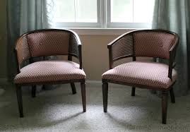 reupholstered chairs before u0026 after erin spain