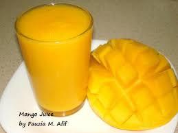 Mango Juice fresh mango juice fauzia s kitchen